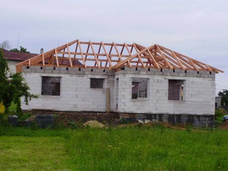 Stanová střecha krov
